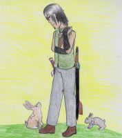 Roiru with Bunnies by 93FangShadow