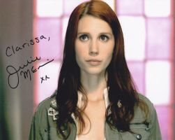 Julie McNiven Autograph by crazy71096