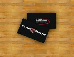 Xtreme Design Card by XtrDesign