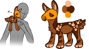 Little Pothead - auction (closed) by SwarThylacine-Adopts