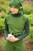 Zelda OOT: Saria by SFLiminality