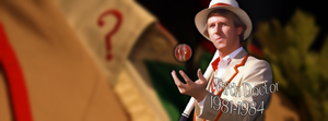 Fifth Doctor Facebook cover by Leda74