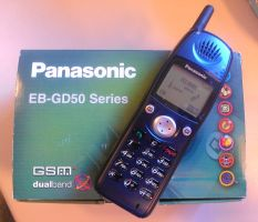 Panasonic EB-GD50 Mobile Phone by Redfield-1982