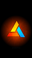 abstergo entertainment Mobile Red by pixelperf3ct