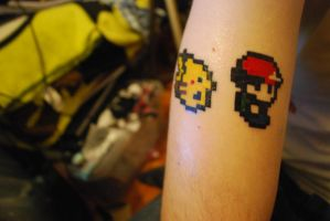 Pokemon Tattoo :D by xPumpkin-Princex