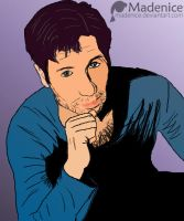David Duchovny by Madenice