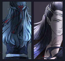 Elros and Elrond by akato3