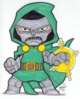 Chibi-Doom 3. by hedbonstudios