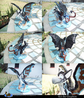 Kit the Gryphon Sculpture by Slasher12