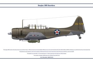 Dauntless USA 27th Bomb Group by WS-Clave
