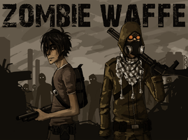 Zombie Waffe poster by Detkef