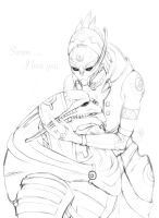 Saren ... I love you by Yanarada