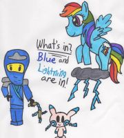 Blue and Lightning by Piplup88908