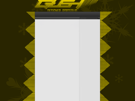 GUSH 2d youtube background yellow by Al2r
