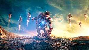 Iron Man 3 (New wallpaper size) by Fusions2