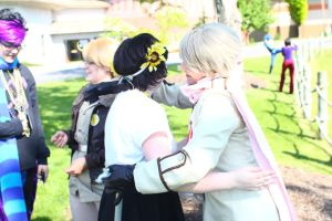 ColossalCon 2014 - Of Scarves and Glasses(PS) 67 by VideoGameStupid