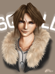 FINAL FANTASY VIII: SQUALL by pbozproduction