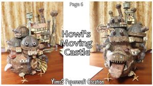 Chateau Ambulant (Howl's Moving Castle) - P.6 by Goddess-YimsSArts