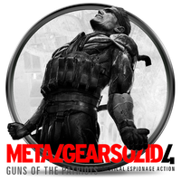 Metal Gear Solid 4 (2) by Solobrus22