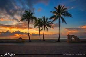 Hollywood-Beach-Sunrise-from-New-Mexico-Street by CaptainKimo