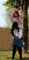 Karin you're heavy ! by Leox90