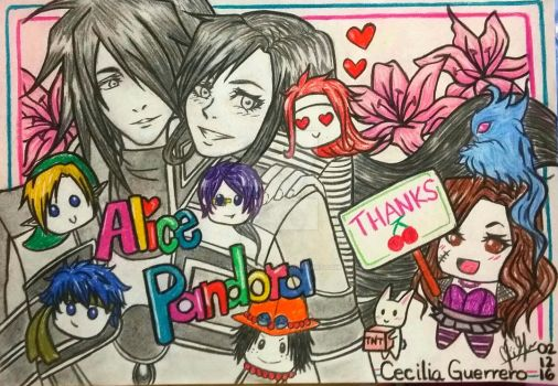 Special Drawing by Alice-Pandora