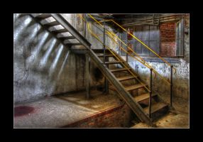 Basement Stairs by 2510620