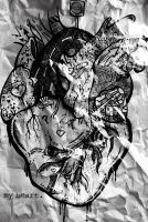 Crumpled Up Heart by baby-drummer23