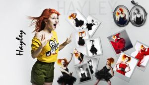 Hayley Williams Wallpaper 1 by xxFloryxx