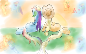 Good Ol' Times [AppleDash Comp] by instant-noodle5