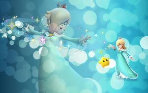 Princess Rosalina Wallpaper by Queen--Zelda