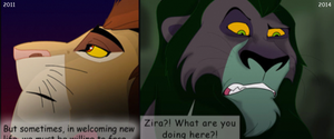 Then and Now- New Peeps Read Old Comics by albinoraven666fanart