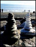 Stacking Stones by Ruriel