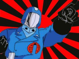 The Cobra Commander by omkr01