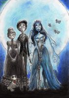 Corpse Bride by Tim Burton by Rodrigato
