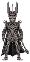Sauron (Lord of the Rings) by alexmicroheroes
