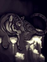 Tiger Speedpaint by sambees
