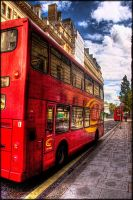 London red bus HDR by jamesparr