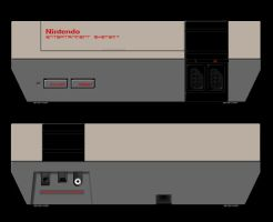 NES Control Deck by wastingtape