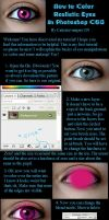 How to Color Realistic Eyes by catieisavampire159