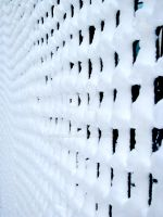 Checkered snowfall by peterames