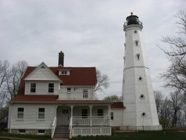 Northpoint Lighthouse by WestytheTraveler
