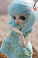 Blue Cotton Candy by Kyanara