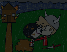 Satw Kiss of Viking! by ABtheButterfly