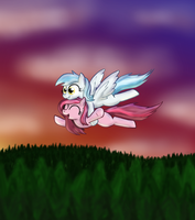 'WHEEEEEEEEEEEEEE- by paper-pony