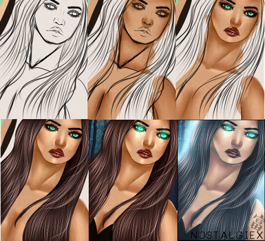 IMVU | DP Progress by Zephiex