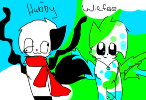 Wiefee and Hubby Deviant ID by Flare88