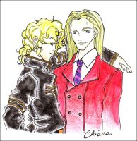 Lestat and Marius by Rucci