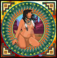 Native American Woman 4 by godzillasmash