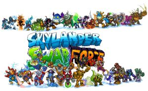 Skylanders swap force by NitendoFan92